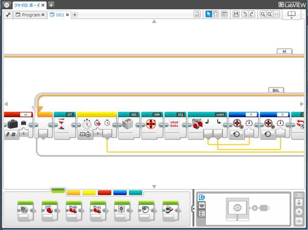 MindstormEV3制御ソフトウェア